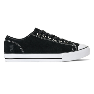 CHROME / KURSK SUEDE (BLACK/WHITE SUEDE)