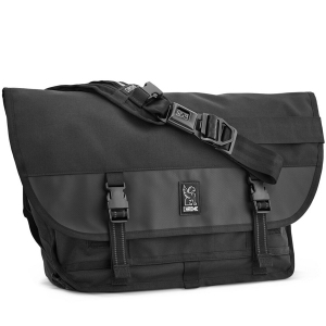 CHROME / CITIZEN MESSENGER BAG (ALL BLACK)