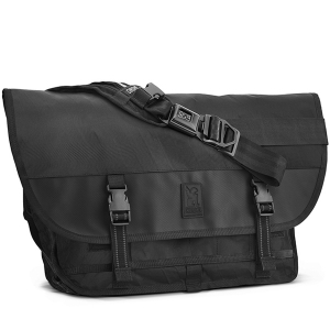 CHROME / BLCKCHRM CITIZEN MESSENGER BAG (BLCKCHRM)