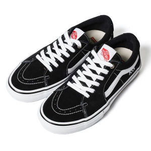 VANS / SKATE SK8-LOW (BLACK/WHITE)
