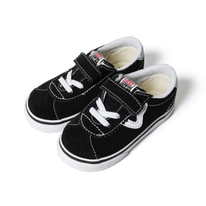 VANS / KIDS VANS SPORT V (BLACK/TRUE WHITE)