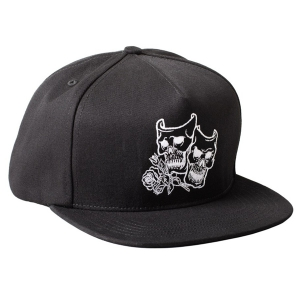 REBEL8 / CRY LATER SNAPBACK CAP (BLACK)