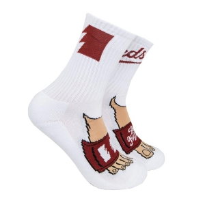 THE HUNDREDS / SLIDE SOCKS (WHITE)
