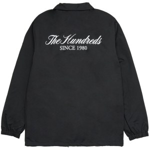 THE HUNDREDS / RICH COACHES JACKET (BLACK)