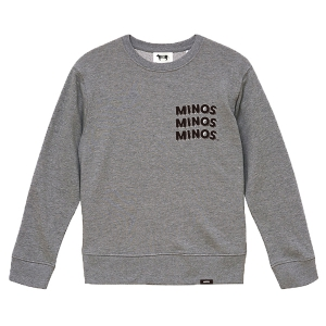MINOS / MMM CREW SWEAT (GRAY)