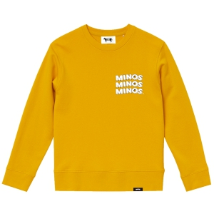 MINOS / MMM CREW SWEAT (YELLOW)