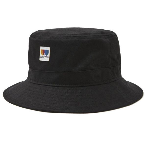 BRIXTON / ALTON PACKABLE BUCKET HAT (BLACK)