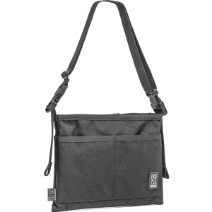 CHROME / MINI SHOULDER BAG (BLACK/BLACK)