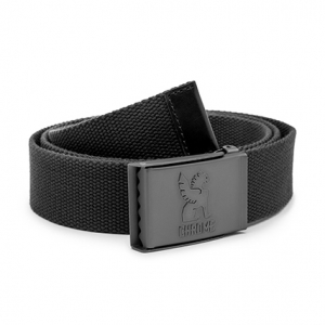 CHROME / WEBBED BELT 2.0  (BLACK)
