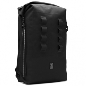 CHROME / URBAN EX ROLLTOP 28L BACKPACK (BLACK/BLACK)