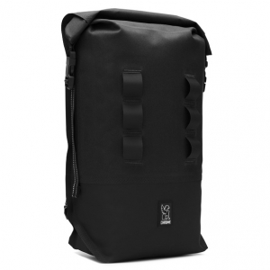 CHROME / URBAN EX ROLLTOP 18L BACKPACK (BLACK/BLACK)