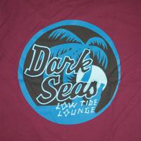 DARK SEAS / NIGHTCAP PREMIUM TEE (BURGUNDY)