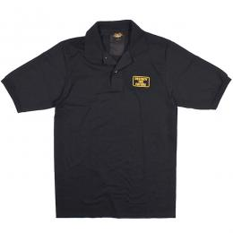 LOSER MACHINE / DESTROY BOX STOCK POLO (BLACK)