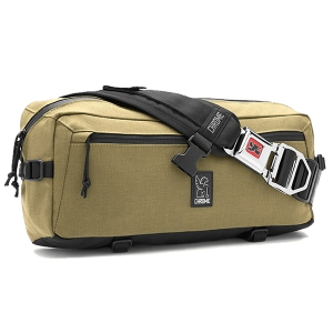 CHROME / KADET NYLON MESSENGER BAG (BRONZE AGE/BLACK)