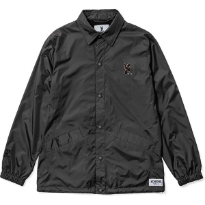 CHROME / SYMBOL POINT COACH JACKET (BLACK)