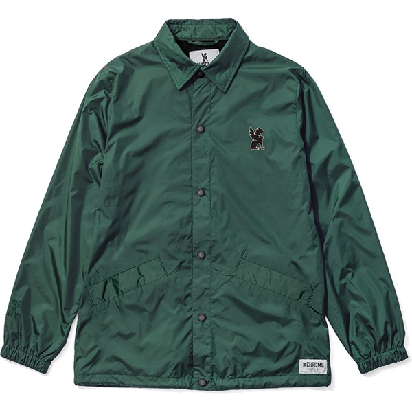 CHROME / SYMBOL POINT COACH JACKET (IVY)