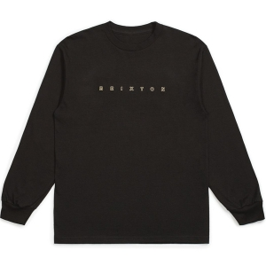 BRIXTON / CANTOR L/S STANDARD TEE (WASHED BLACK)