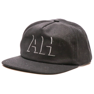 ANTIHERO / DROPHERO SNAPBACK CAP (BLACK/GREY)