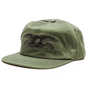 ANTIHERO / BASIC EAGLE SNAPBACK CAP (DARK GREEN/BLACK)