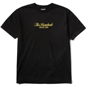 THE HUNDREDS / RICH EMBROIDERY TEE (BLACK)