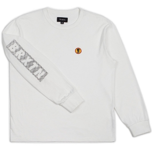 BRIXTON / FANG L/S KNIT (OFF WHITE)