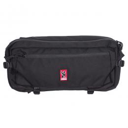 CHROME / KADET NYLON MESSENGER BAG (BLACK)