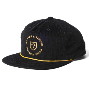 BRIXTON / BRIXTON X FENDER ELECTRIC MP SNAPBACK CAP (BLACK)