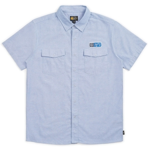 BRIXTON X INDEPENDENT / OFFICER S/S WOVEN (LIGHT BLUE)