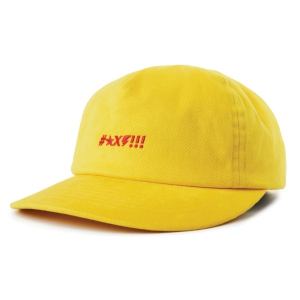 BRIXTON X INDEPENDENT / SHINE LP CAP (YELLOW)