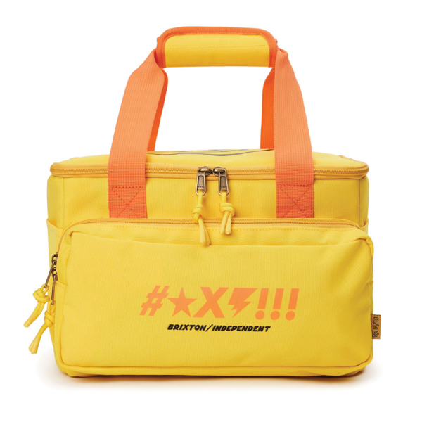 BRIXTON X INDEPENDENT / SHINE COOLER (YELLOW)
