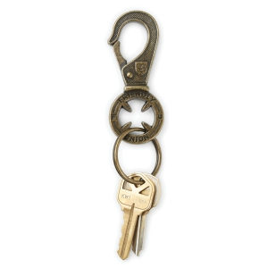 BRIXTON X INDEPENDENT / HEIGHT II KEY CLIP (BRASS)