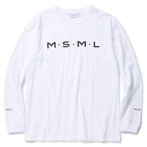 MSML / MSML LONG SLEEVE TEE (WHITE)