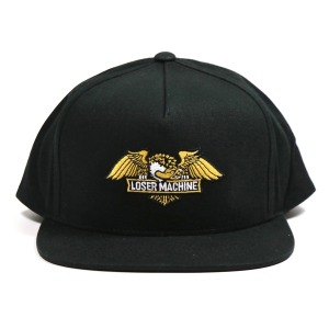 LOSER MACHINE / WINGS SNAPBACK CAP (BLACK)