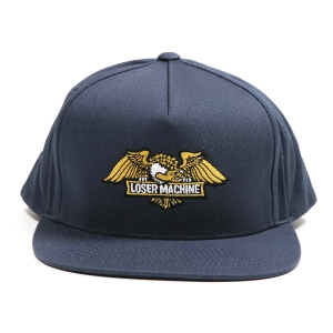LOSER MACHINE / WINGS SNAPBACK CAP (NAVY)