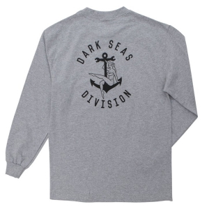 DARK SEAS / BON VOYAGE L/S STOCK TEE (H.GREY)