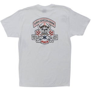 DARK SEAS / CUT ABOVE PREMIUM TEE (WHITE)