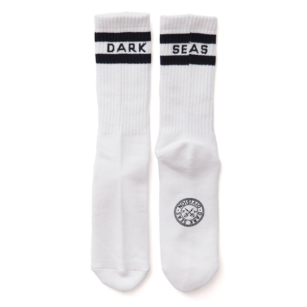 DARK SEAS / WORKUP SOCKS (WHITE)