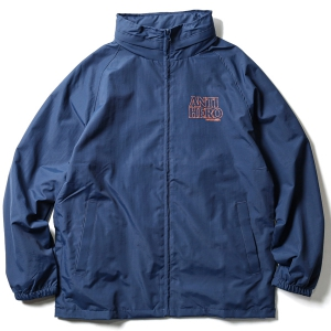 ANTIHERO / BLACK HERO TRACK JACKET (NAVY/BURNT ORANGE)
