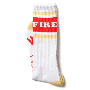 SPITFIRE / OG CLASSIC SOCKS (WHITE/YELLOW/RED)