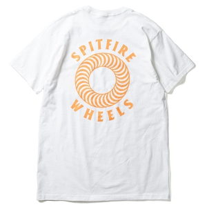SPITFIRE / HOLLOW CLASSIC POCKET TEE (WHITE)
