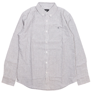 OBEY / 89 ICON STRIPE SHIRT (BLACK MULTI)