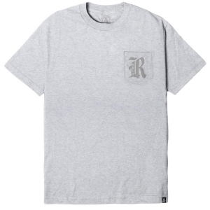 REBEL8 / RBL8 3M POCKET TEE (GREY)