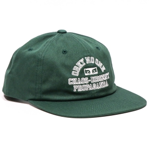 OBEY / MISSION 6-PANEL SNAPBACK CAP (FOREST)