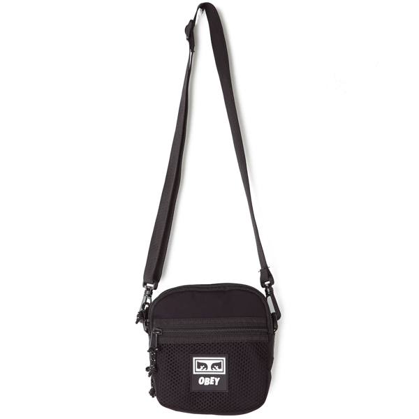OBEY / CONDITIONS TRAVELER BAG (BLACK)