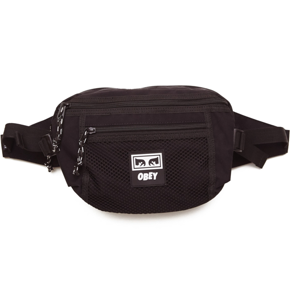 OBEY / CONDITIONS WAIST BAG (BLACK)