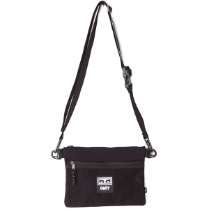 OBEY / CONDITIONS SIDE BAG (BLACK)