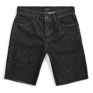 BRIXTON / LABOR 5-POCKET DENIM SHORT (BLACK)