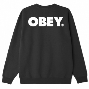 OBEY / OBEY BOLD CREWNECK SWEAT (BLACK)