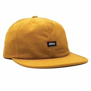 OBEY / LAMPIN' 6 PANEL CINCH BACK CAP (DIJON)