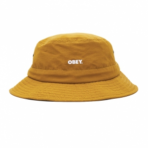 OBEY / BOLD JAZZ BUCKET HAT (DIJON)